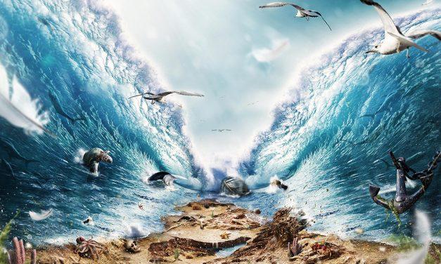 Exode 14.21-22
